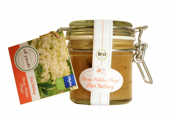 Birne-Holder (Hugo) Bio-Chutney