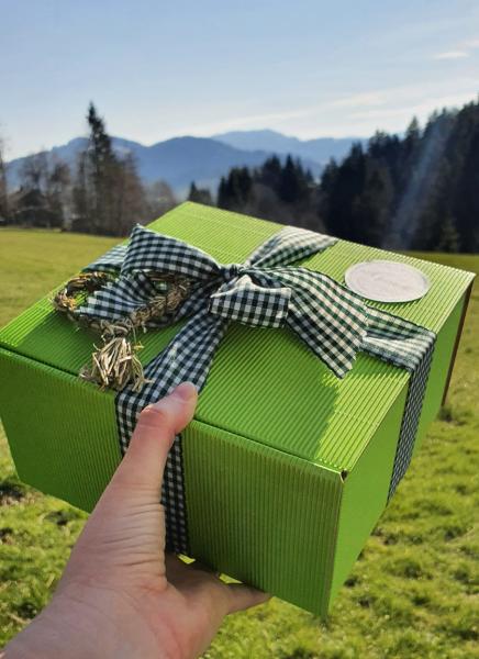Geschenkschachtel - Allgäuer Gruß